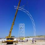 Steigerbouw dans evenement Beach Boom