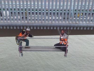steigerbouw brug