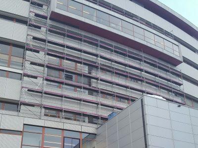 Steiger gevelreiniging Rotterdam