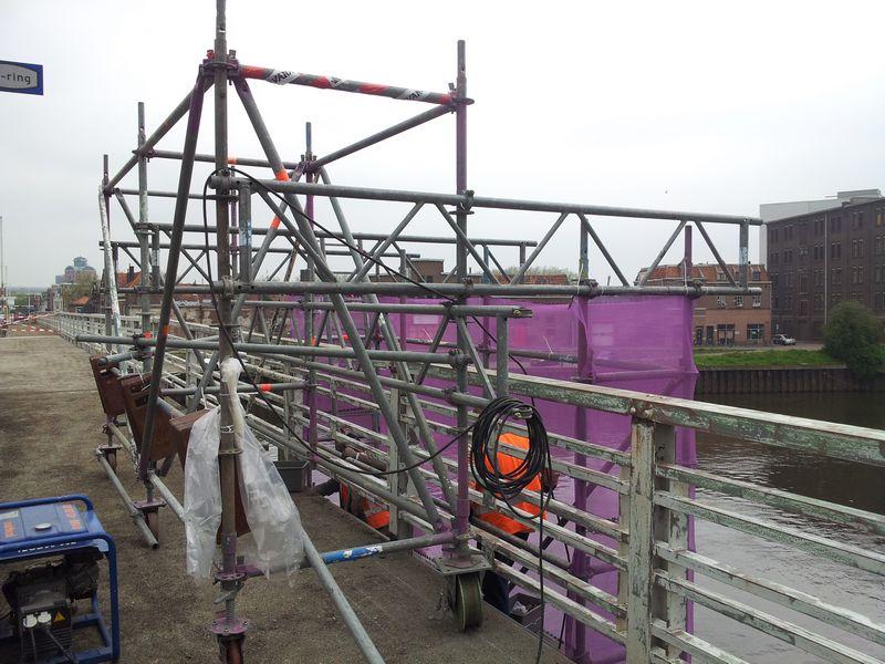 Hangsteiger renovatie Diezebrug Den Bosch